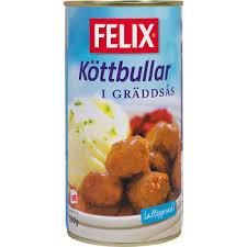 Köttbullar I Sås 560 G Felix
