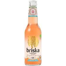 Jordgubb & Rabarber Cider 33 Cl Briska