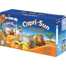Capri-Sun Safari Fruit 10X20 Cl