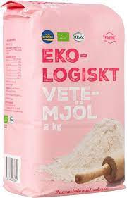 Vetemjöl Eko 2 Kg Favorit