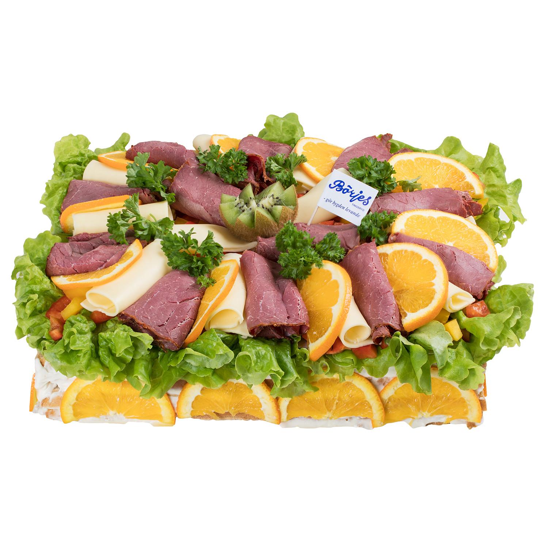 Smörgåstårta Rostbiff/Ost 6 Pers