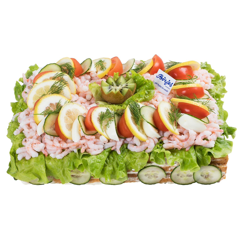 Smörgåstårta Räkor 12 Pers