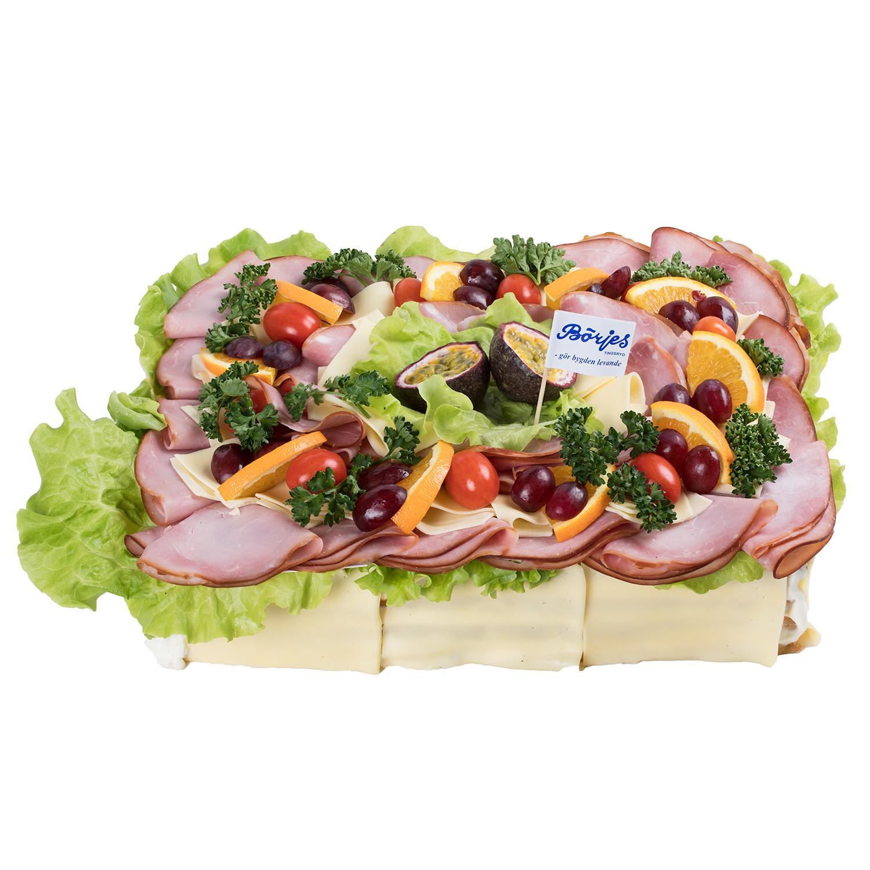 Smörgåstårta Ost/Skinka 12 Pers