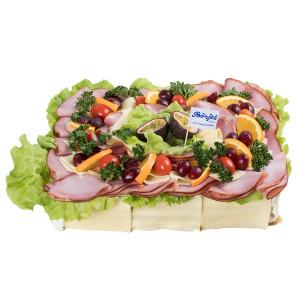 Smörgåstårta Ost/Skinka 6 Pers