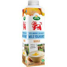 Mild Yoghurt Mango Lättsockrad 1,5% 1 L Arla