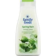 Shower Cream Spring Rain 500 Ml Family Fresh