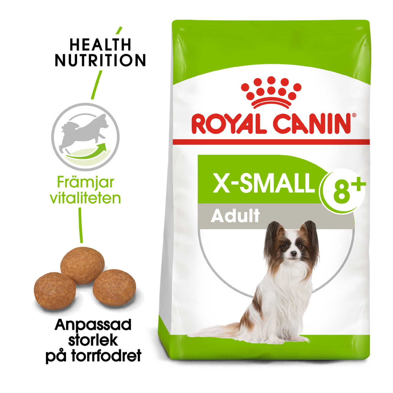X-Small Adult +8 Royal Canin 3 Kg