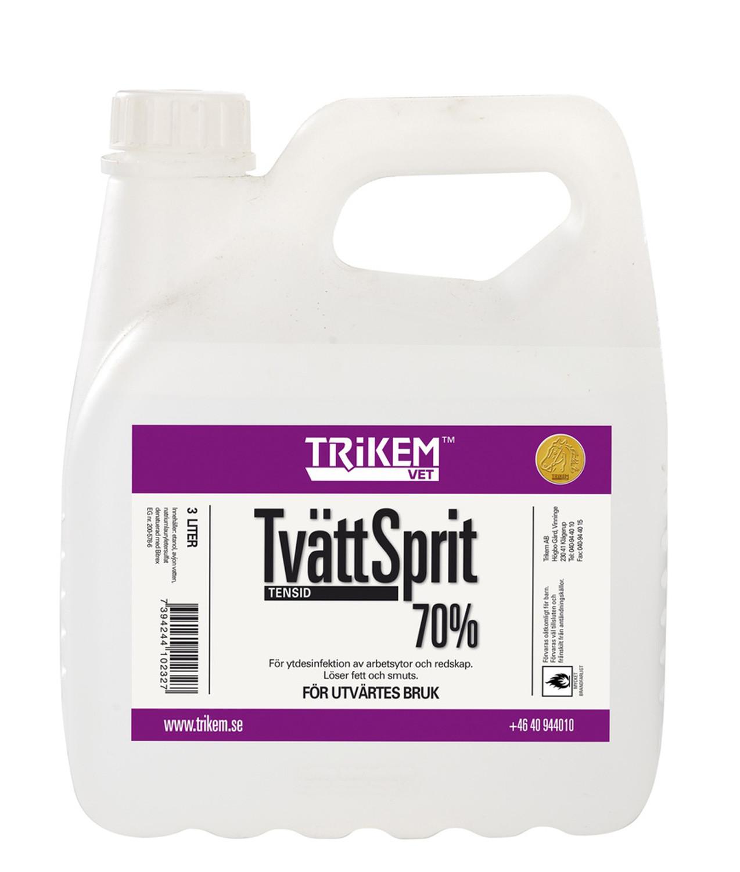 Trikem Tvättsprit 70% Ytdes 3 Liter