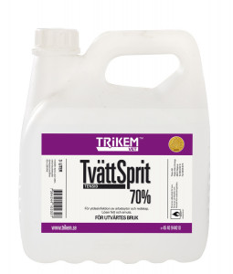 Trikem Tvättsprit 70% Ytdes 1 Liter