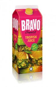 Bravojuice Tropisk 2 L