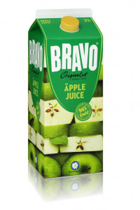 Bravojuice Äppel 2 L