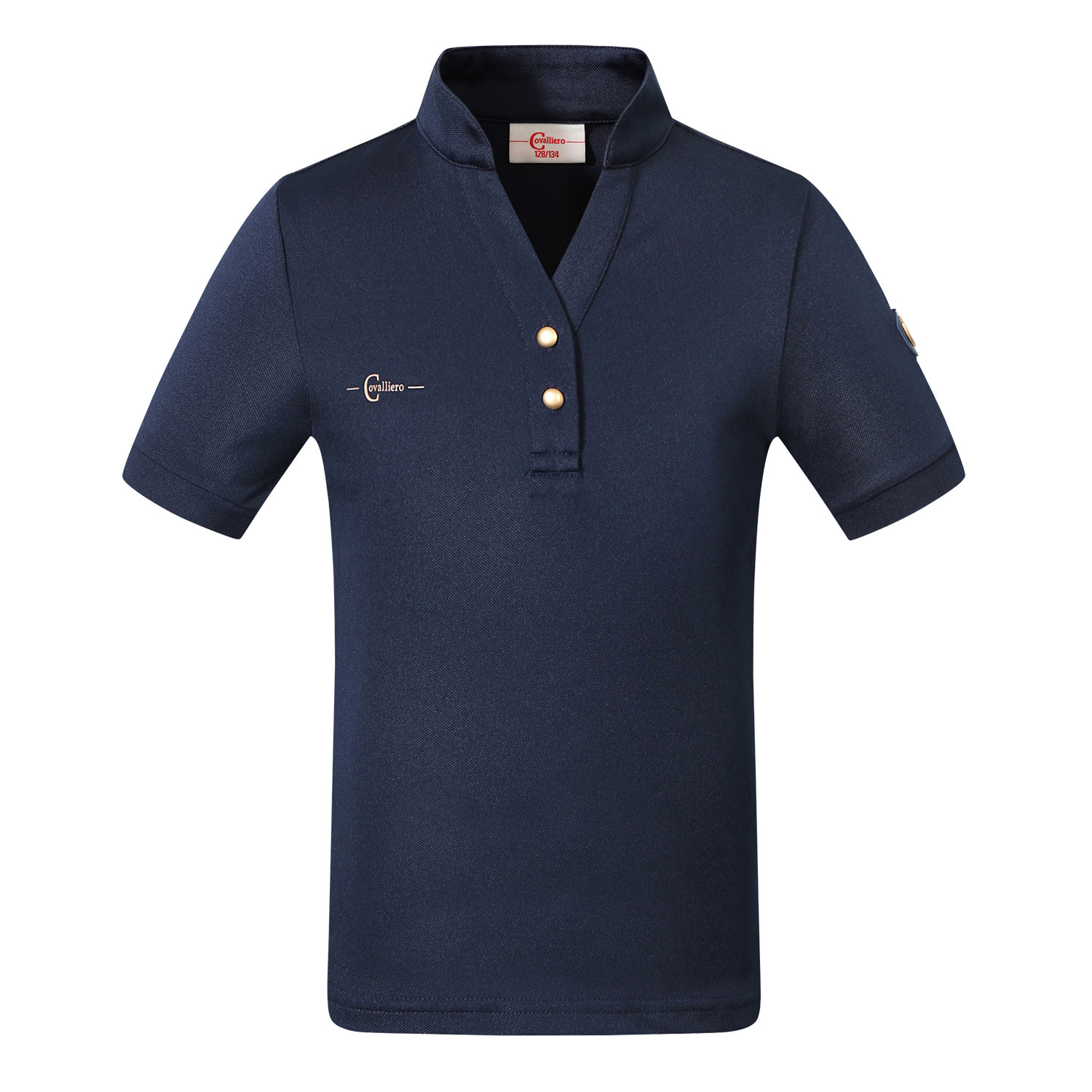 Polo T-Shirt Cl Covalliero Marinblå/140/146
