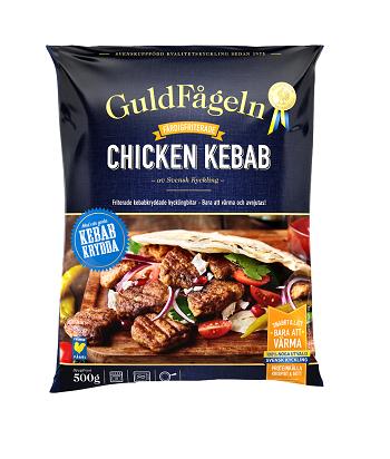 Chicken Kebab Guldfågeln 500 G