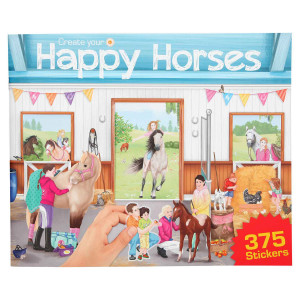 PUSLEBOG HAPPY HORSE-21