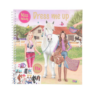 Pysselbok Dress Me Up Miss Melody-21