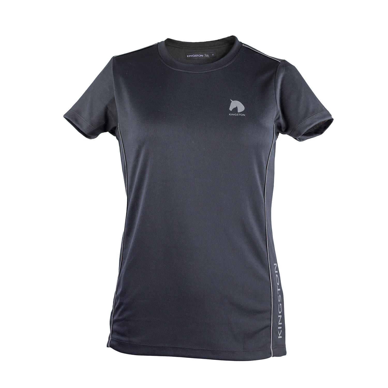 Funktions T-Shirt Spring Kingston Jr Svart/122/128