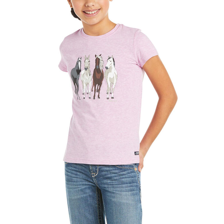 T-Shirt 360 View Jr Ariat Violet/M