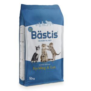 Bästis Lax/Kyckling 10 Kg