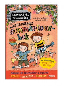 Lassemajas Detektivbyrå Sommarlovsbok