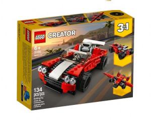 Creator Röd Sportbil