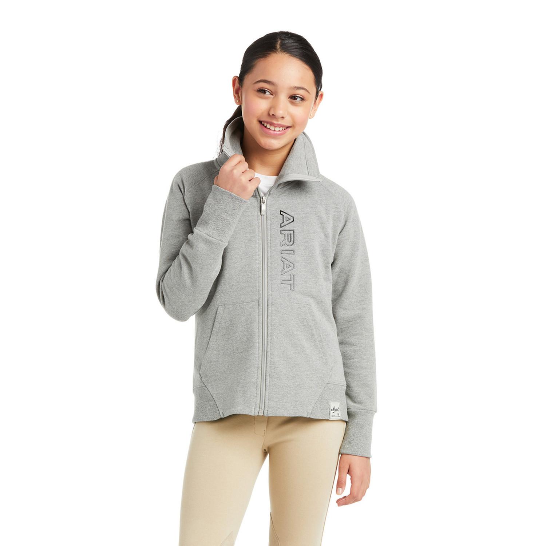 Sweatshirt Team Heather Junior Ariat Grå/Jr/L