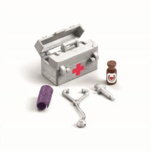Schleich Veterinärutrustning