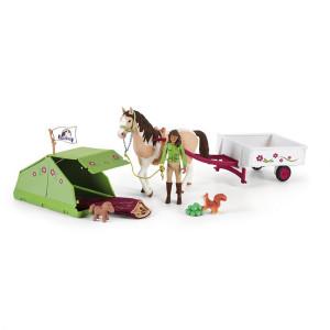 Schleich Horse Club Sarah ´S Camping
