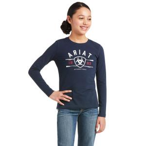 T-Shirt Yth Logo Junior Ariat