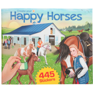 Pysselbok Happy Horse V21