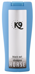K9 ALOE VERA BLACK OUT HÄSTSHAMPOO (BLÅ) 300 ML
