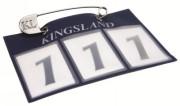 Nummerbricka Kingsland