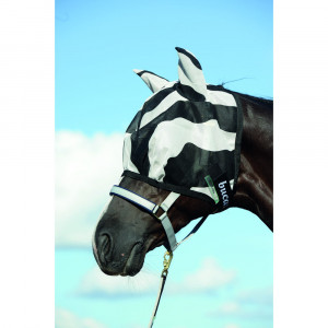FLY MASK BUZZ-OFF ZEBRA