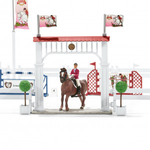 BIG HORSE SHOW W.HORSES SCHLEICH