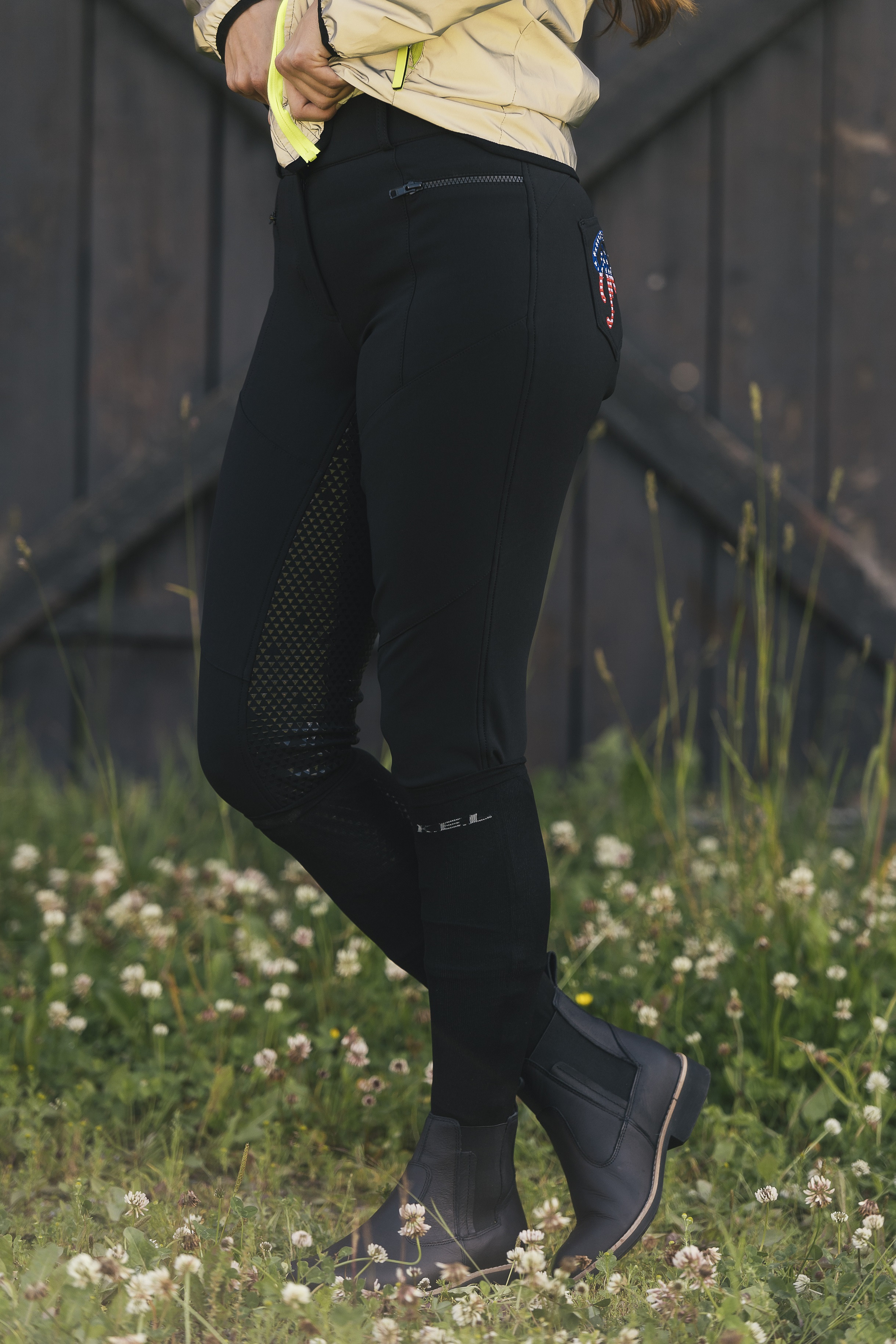 RIDBYXA FELICIA DOMINO  SVART-black/34
