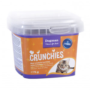 CRUNCHIES FÅGEL 75GR