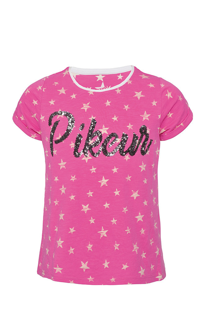 T-Shirt Loni Pikeur Rosa/122/128