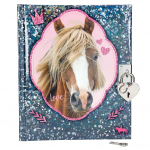 HORSE DREAMS DAGBOK BLÅ
