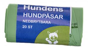 HUNDBAJSPÅSAR NEDBRYTBARA 20-PACK