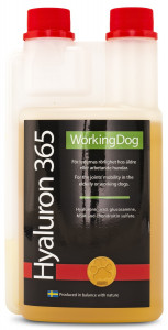 WORKING DOG 365  HYALURON HUND  500ML RÖD