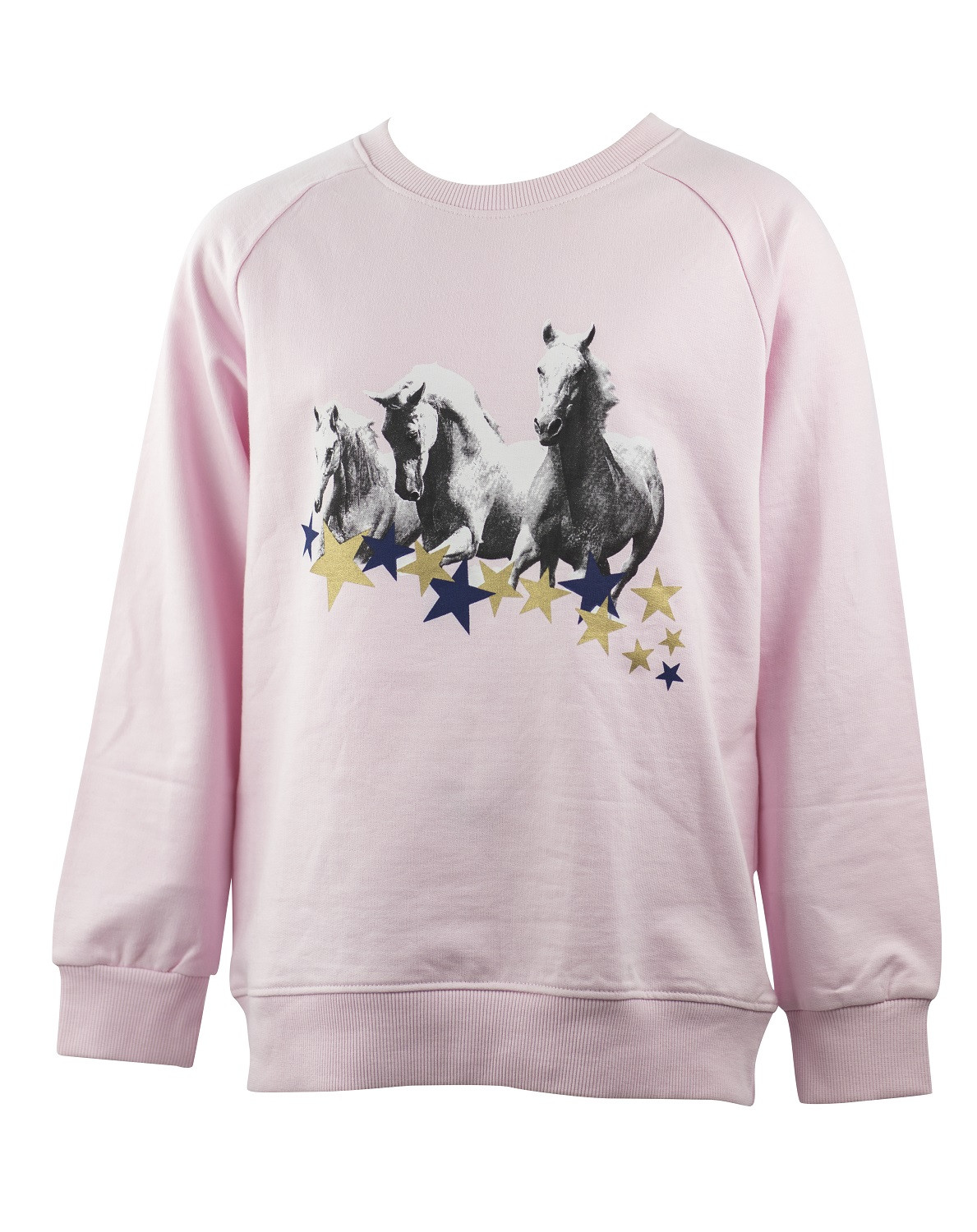 SWEATSHIRT WHITE HORSE