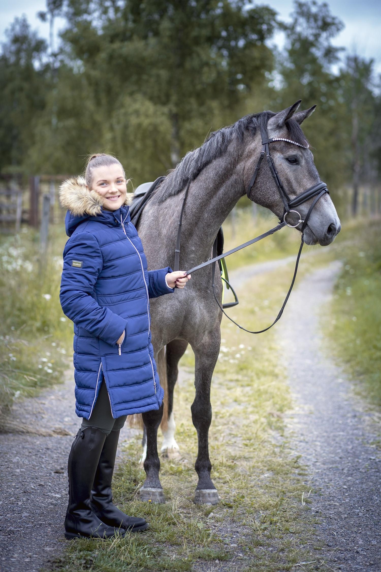 KAPPA DL KINGSTON  MARINBLÅ/XS