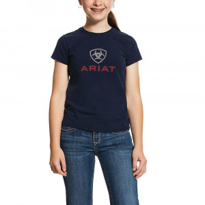 T-SHIRT LOGO GIRLS ARIAT