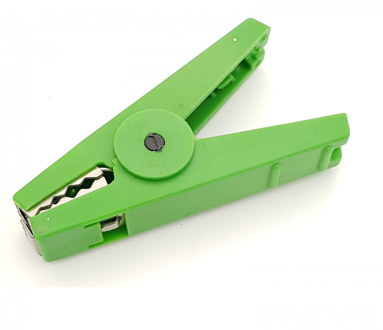 Batteriklämma Grön