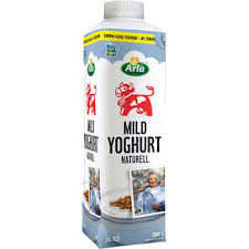 MILD YOGHURT NAT 3% ARLA 1L
