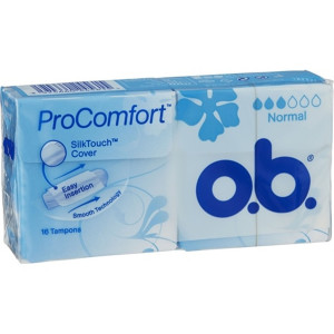 OB PROCOMFORT  BLÅ NORMAL 16 ST