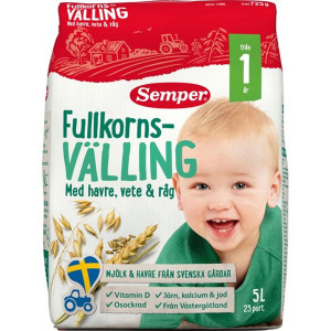 FULLKORNS VÄLLING  VETE/RÅG 1 ÅR SEMPER 5L