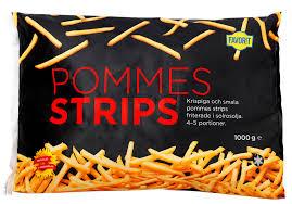 POMMES STRIPS 1000G FAVORIT