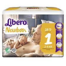 BLÖJOR LIBERO NEW BORN 1