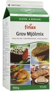Mjölmix Glutenfri  Grov 900Gr  Finax