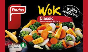 Wok Classic Grönsaker  Findus 500Gr